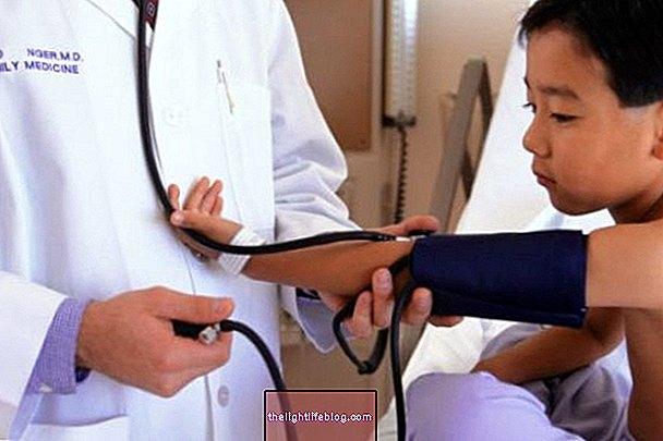 Kako se brinuti za dijete s povišenim krvnim tlakom