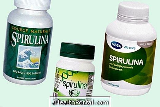 Kako uzeti Supplement Spirulina