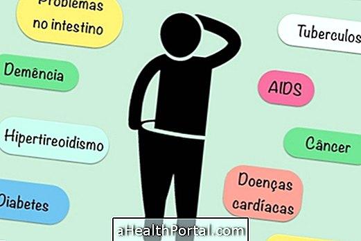 Poznajte bolezni, ki lahko povzročijo hujšanje