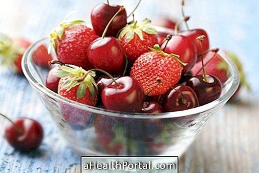 היתרונות של פירות אדומים