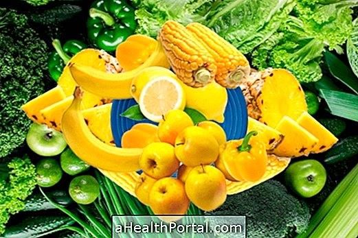 Zelené a žlté potraviny: šťavy a recepty