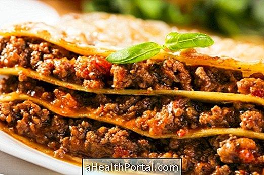 Lengvas lazanijos receptas numesti svorio