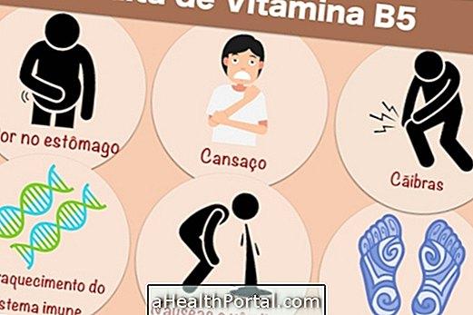 أعراض فيتامين B5 نقص